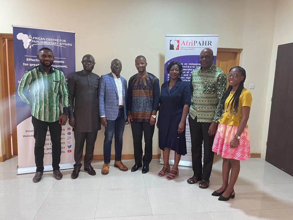 AfriPAHR Chairperson visits Ghana